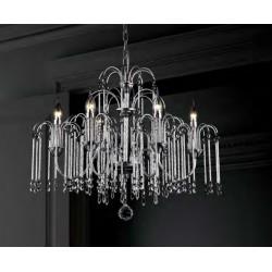 LAMPA WISZĄCA LUCAS P0354-06B Zuma Line, żyrandol, żyrandol z kryształkami, zuma line, nowoczesna lampa