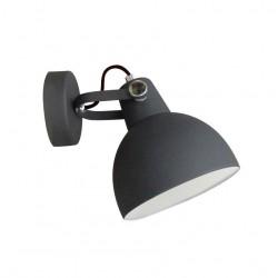 LAMPA ŚCIENNA CANDE TS-140605W-BK Zuma Line, LAMPY ŚCIENNE, KINKIETY, KINKIET, LAMPKI OŚWIETLENIOWE, NOWOCZESNE, CZARNE