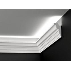 DWPO 02, Styropianowa listwa oświetleniowa, listwa oświetleniowa, listwy oświetleniowe, gzymsy oświetleniowe, listwy led, sztuka