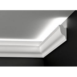 DWPO 09, Listwa oświetleniowa, styropianowa, listwy oświetleniowe, styropianowe listwy, styropianowa sztukateria oświetlenie, de