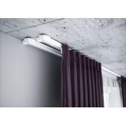 Podwójna szyna sufitowa aluminiowa, ZS2-150, CREATIVA, DWUTOROWY KARNISZ, szyny aluminiowe, karnisz, szyny dwutorowe, szyna