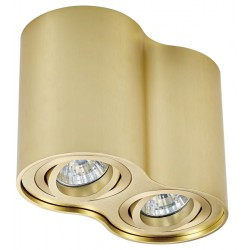 LAMPA SUFITOWA, RONDOO, SPOT, BRUSHED GOLD, 50407, Zuma Line, lampy sufitowe, oświetlenie, nowoczesne