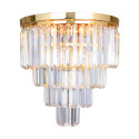 FC17106/4+1-GLD AMEDEO LAMPA SUFITOWA ZŁOTA/GOLD 003064-009234 Zuma Line