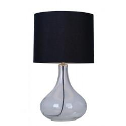 CERI ZUMA LINE, RLT94118-1B ZUMA LINE, CZARNA LAMPA STOŁOWA, CZARNE LAMPKI NOCNE, LAMPKI NOCNE ZUMA LINE, LAMPKI STOŁOWE ZUMA LI