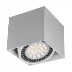 LAMPA BOX 1, WH ACGU10-114 Zuma Line, LAMPA SUFITOWA BIAŁA, BIAŁA LAMPA BOX, BIAŁA LAMPA KWADRAT, BIAŁE LAMPY SUFITOWE ZUMA LINE