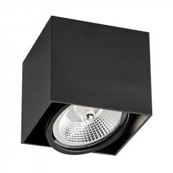 LAMPA BOX 1, BK ACGU10-115 Zuma Line, LAMPA SUFITOWA CZARNA, CZARNA LAMPA SUFITOWA ZUMA LINE, CZARNE LAMPY BOX, CZARNY BOX ZUMA