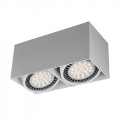 LAMPA BOX 2, WH ACGU10-116 Zuma Line, LAMPA SUFITOWA ZUMA LINE, BIAŁE LAMPY SUFITOWE BOX, BIAŁE LAMPY NA SUFIT, SUFITOWE LAMPY,