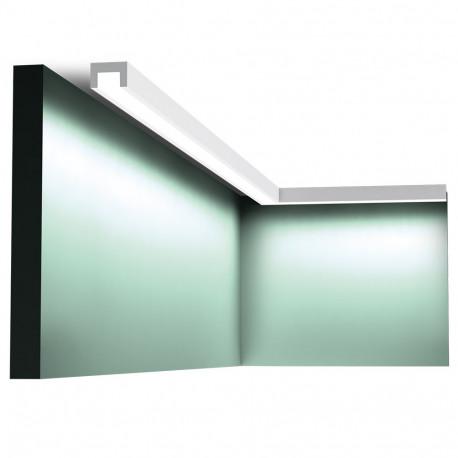 LISTWY SUFITOWE LED, CX190 ORAC DECOR, LISTWA SUFITOWA LEDOWA, LISTWA SUFITOWA OŚWIETLENIOWA, LISTWY SUFITOWE ORAC, LISTWA LED