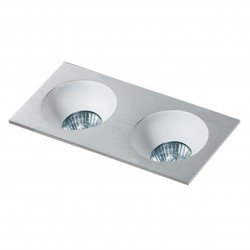 Lampa HUGO 2 Downlight bez wkładu GM2203 Downlight chrome / alumin Azzardo