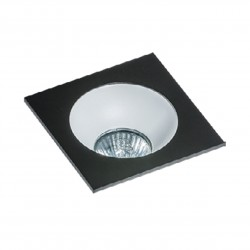 Lampa HUGO 1 Downlight bez wkładu GM2118S Downlight black / alumin Azzardo