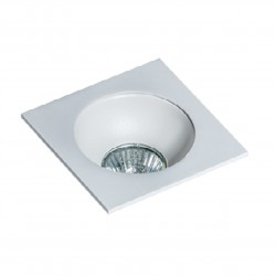 Lampa HUGO 1 Downlight bez wkładu GM2118S Downlight white / alumin Azzardo