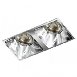 Lampa PIO 2 GM2208 Chrome / aluminum IP20 Azzardo