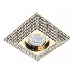 Lampa PIRAMIDE L NC1674SQ-G Gold / aluminium IP20 Azzardo