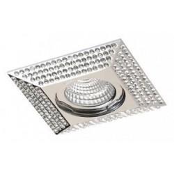 Lampa PIRAMIDE L NC1674SQ-CH Chrome / aluminium I Azzardo