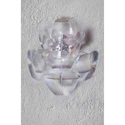 Lampa 3D wall LW2091-3 chrome/clear metal/acry Azzardo