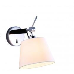 Lampa ZYTA WALL XS WHITE MB2300-XS WH white/black/chrome Azzardo