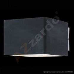 Lampa TULIP wall MB 328-1 black glass/chrome Azzardo