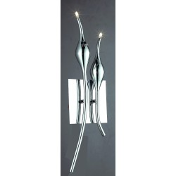 Lampa SNAKE wall MB 6219-2B chrome metal Azzardo