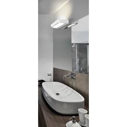 Lampa SCATOLA wall MB5798S white sandy paint alumin Azzardo